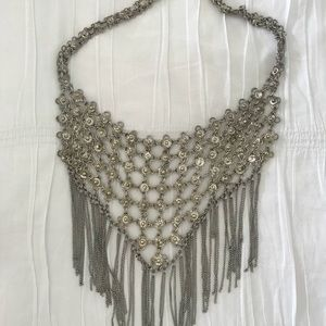Free People bib statement necklace